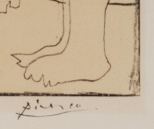 Image of pablo picasso / la danse des faunes / 23/555