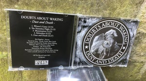Image of DOUBTS ABOUT WAKING - Dust And Death. Limited Edition Jewelcase CD.