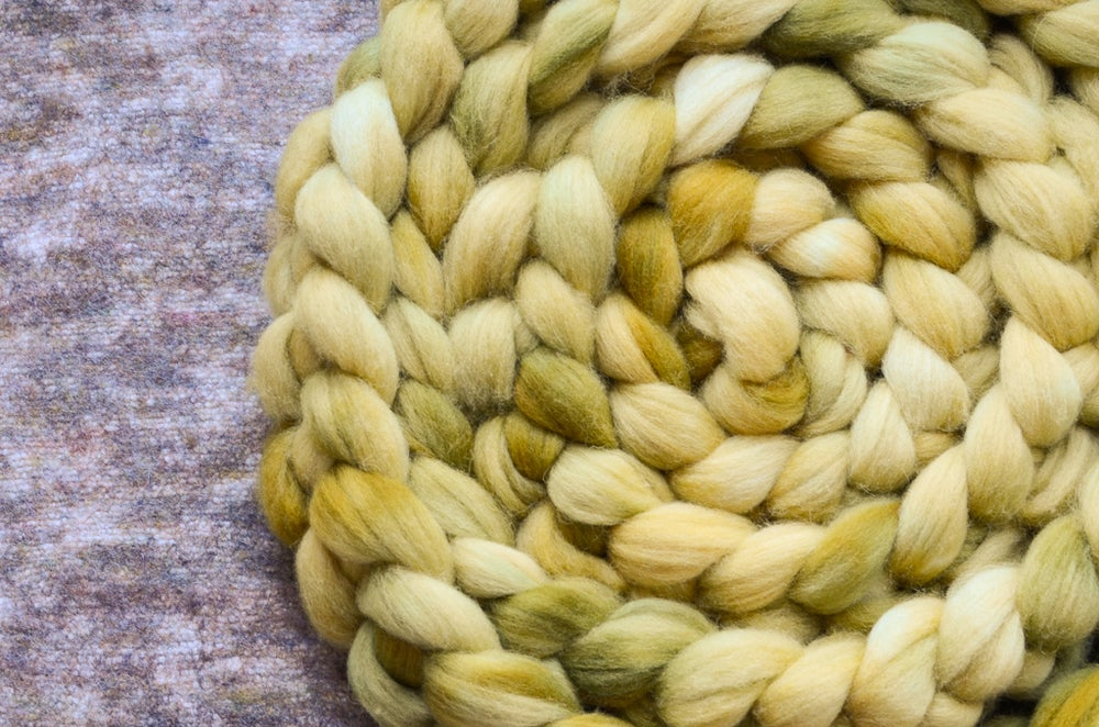 """Image of """"Stained Glass"""" February Fiber Club Coordinate- PRE-ORDER - 4 oz."""
