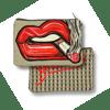 Lip Zip Clutch