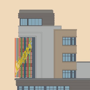 Edificio Carrión - Capitol (fondo color)