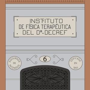 Instituto de Física Terapéutica del Dr. Decref (fondo color)