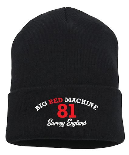 Image of Big Red Machine 81 Surrey Turn up Beanie