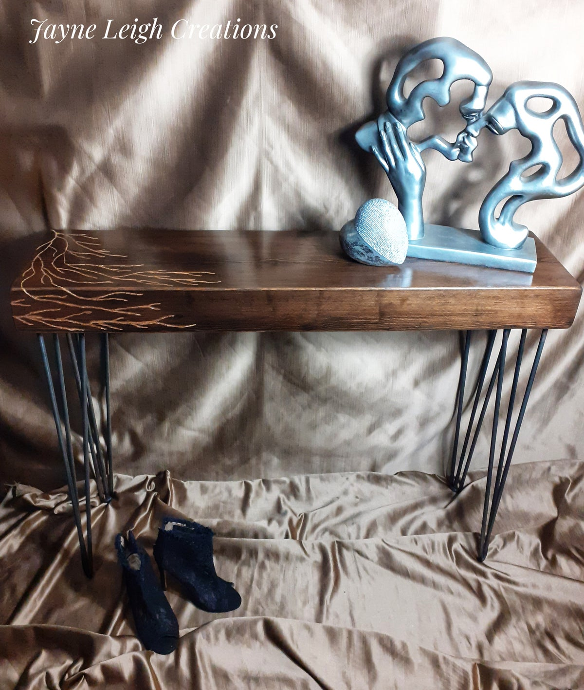 Image of Hand Made Console Table