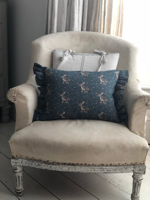 Image of Rabbit Ditsy Cushion