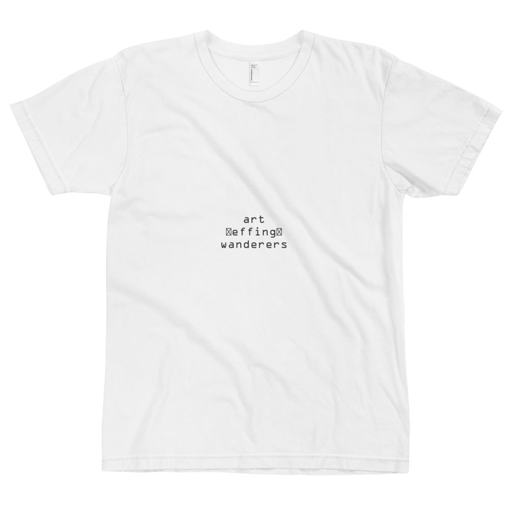 Image of Art Wanderers® X American Apparel - DefeKt Artwork - T-Shirt - White