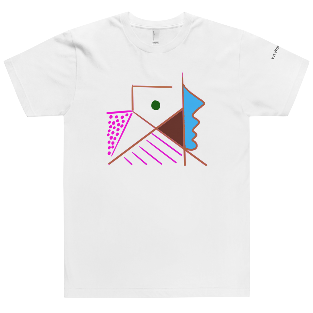Image of Art Wanderers® X American Apparel® - Untitled Artwork P34 - T-Shirt- White