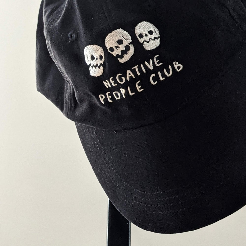 Image of Embroidered NPC Dad Cap (one size)
