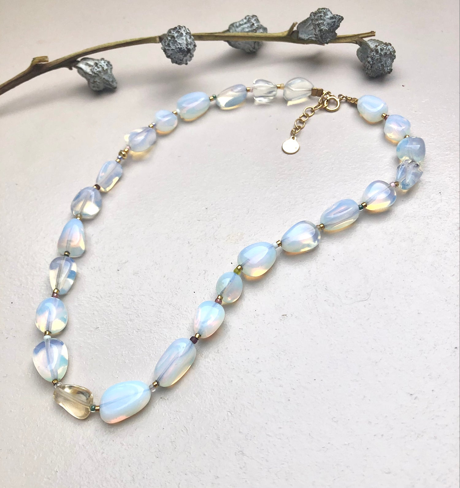 Image of Opalit mood boost Necklace