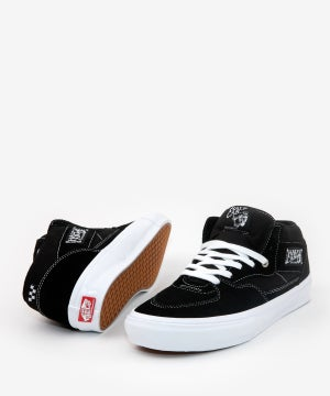 Image of VANS_SKATE HALF CAB :::BLACK/WHITE:::