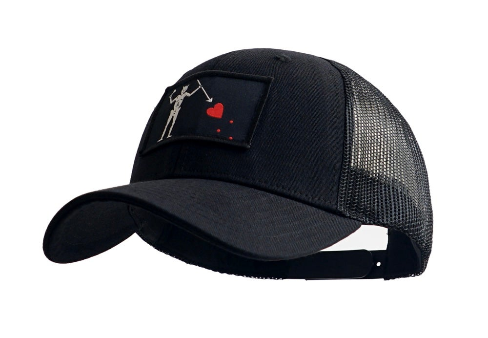 "Image of Limited Edition Edward Teach ""BLACKBEARD"" Trucker Cap"