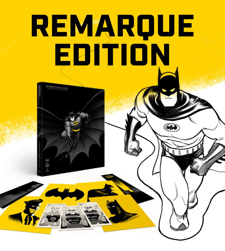 Image of BATMAN: THE ANIMATED SERIES PCC COLLECTION (PCC Version) REMARQUE