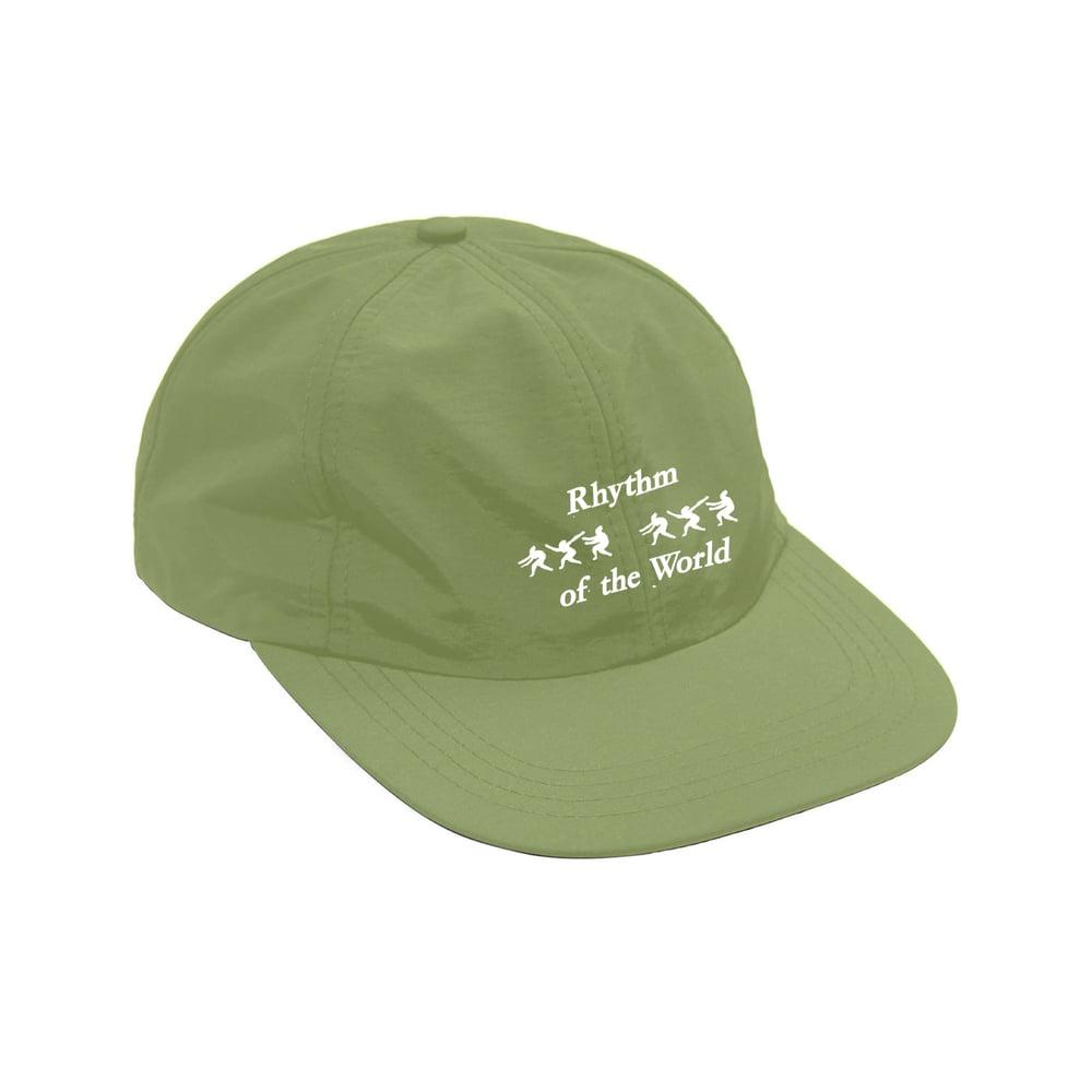Image of Green Rhythm of the World Nylon Strapback