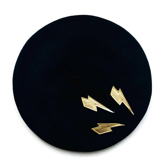 Image of Lightning Bolt Beret