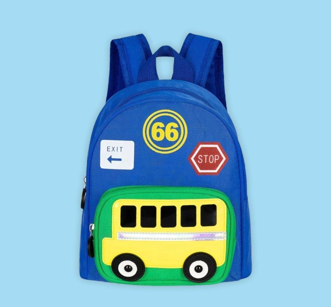 """Image of Look Cool In School """" Bus Backpack"""""""