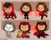 Image of Evolution of Wanda Maximoff/Scarlet Witch