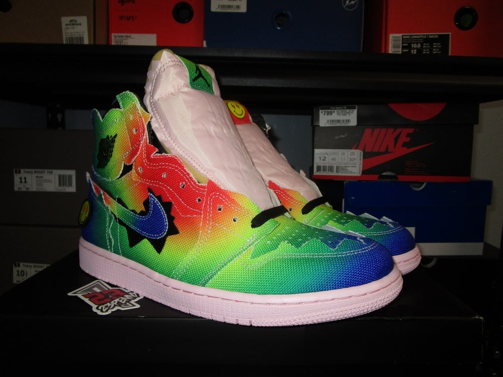 "Image of Air Jordan I (1) Retro High OG x J.Balvin ""Colores y Vibras"""