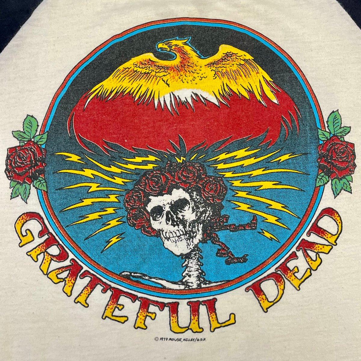 Original Vintage Grateful Dead 1970's Mouse/Kelley Jersey! Small