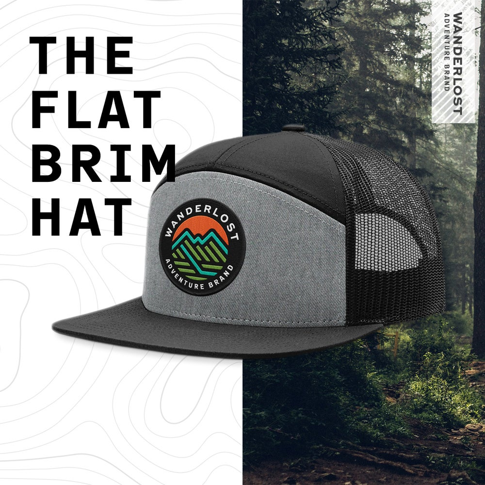 Image of The Flat Brim Hat