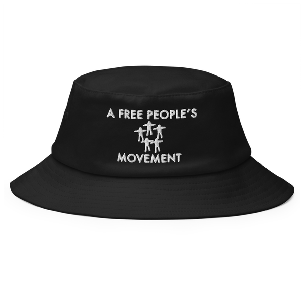 Image of A FREE PEOPLE'S MOVEMENT Bucket black