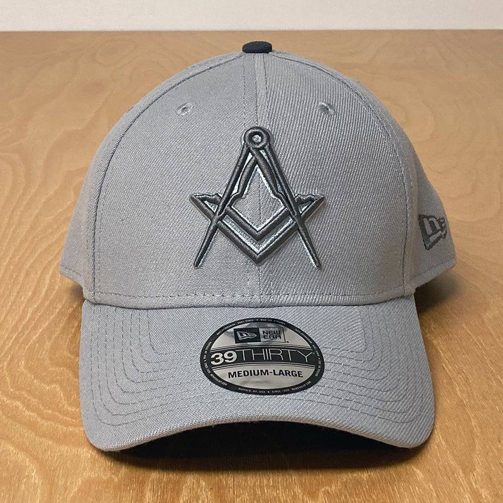 Image of New Era 39Thirty stretch fit in Snow Grey