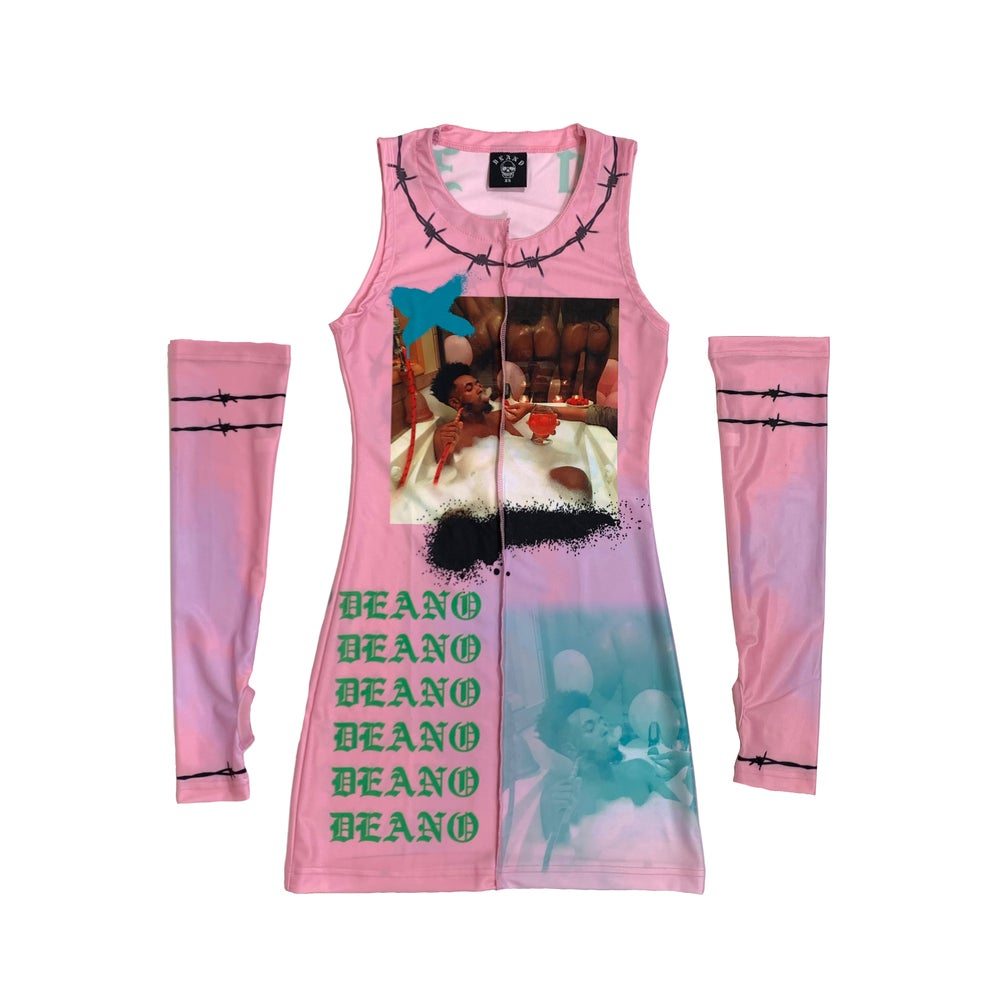 Image of Pink Deano Day Dress