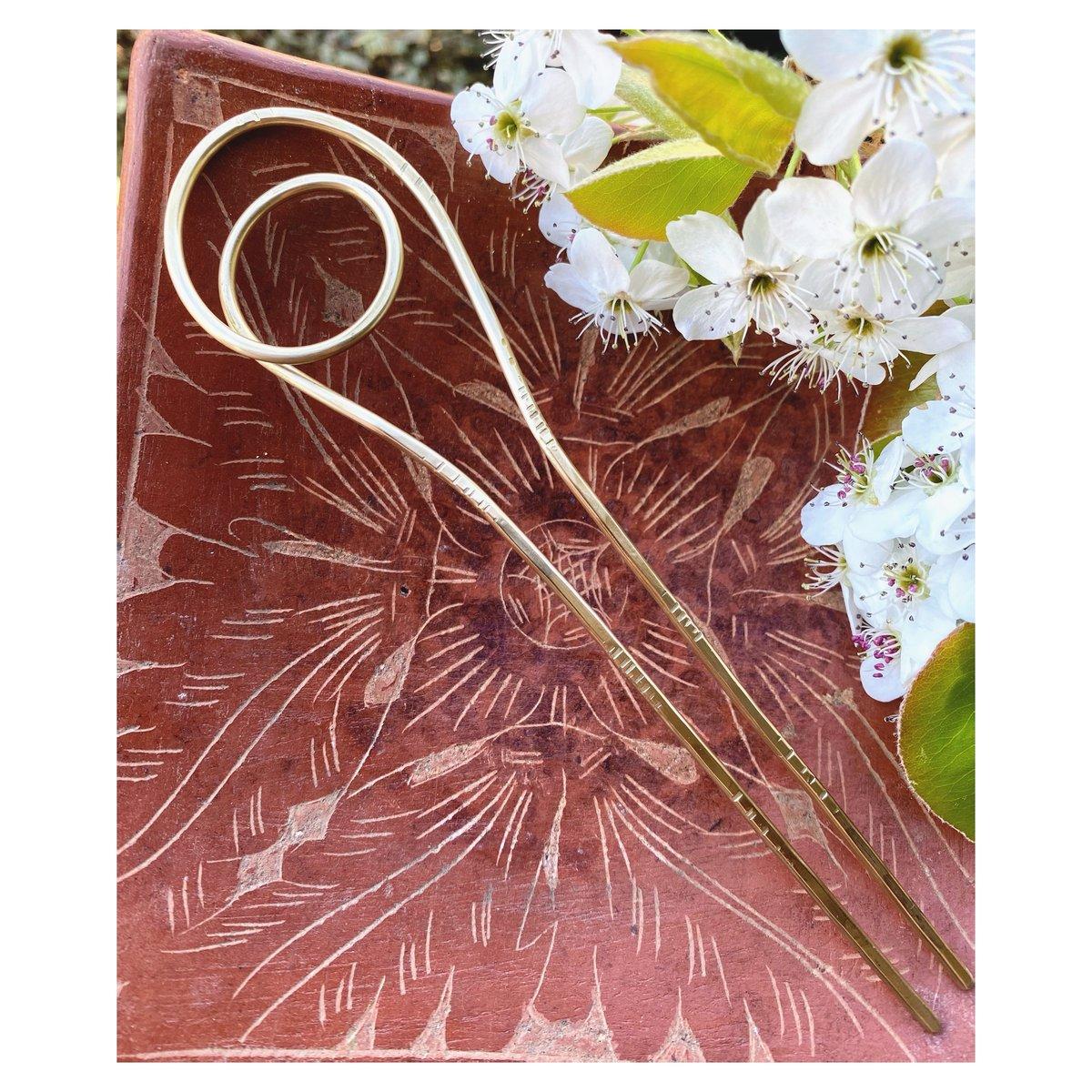 Image of Sculptural Hair Pin -F-
