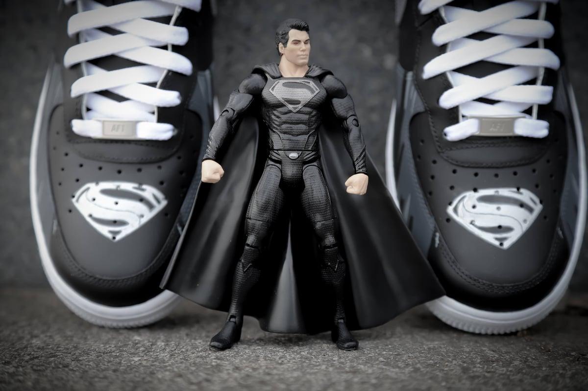 Image of ZSJL: Superman (Black Suit)