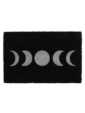Image of BLACK MOON PHASE DOORMAT