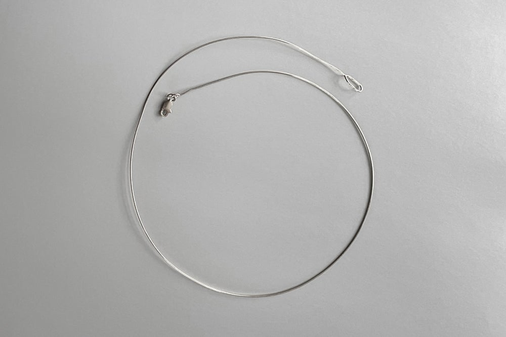 Image of sterling silver rim for pendant