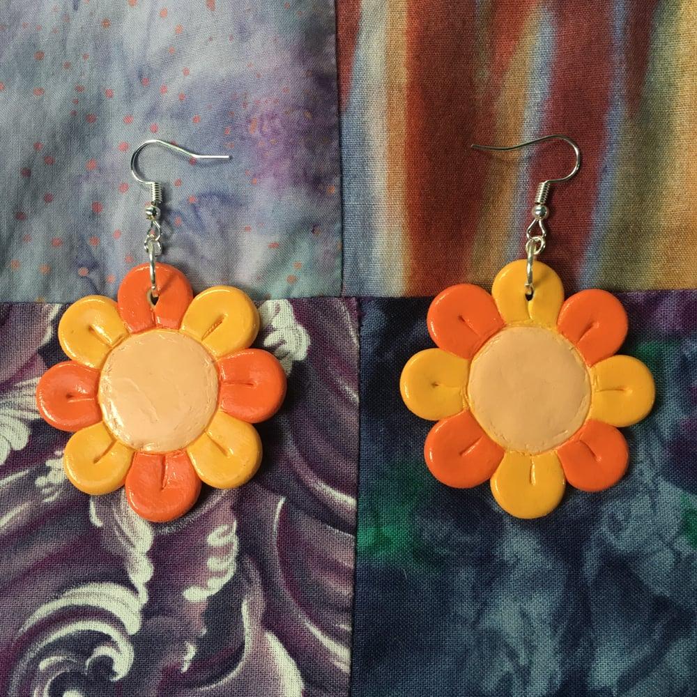 Sunny Flower Earrings