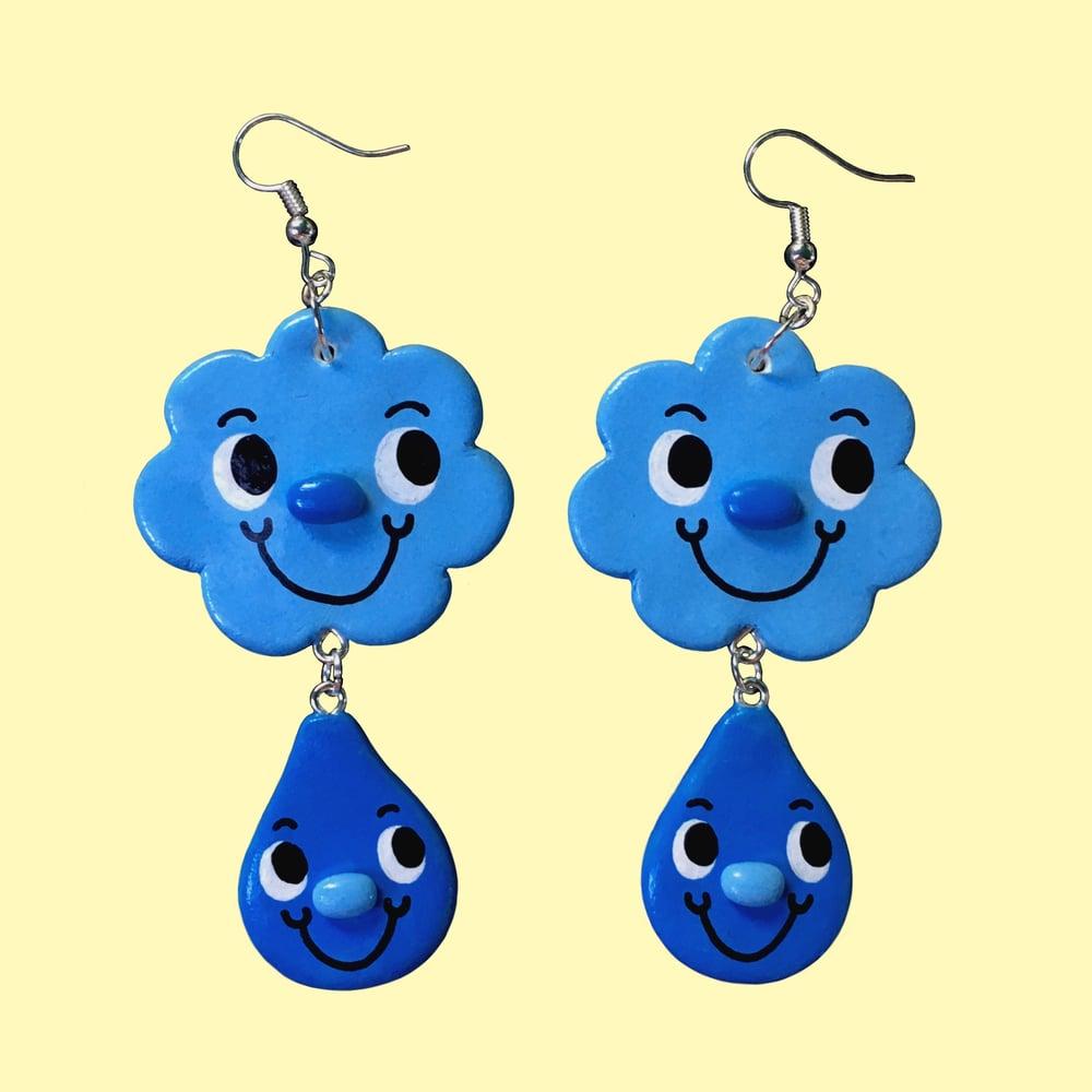 Raincloud Earrings