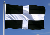 Image of St Pirans Flag - UK p&p free