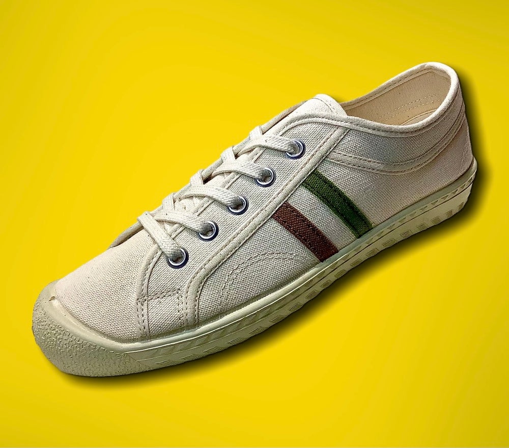 Image of Inn-stant canvas lo natural sneaker shoes made in Slovakia