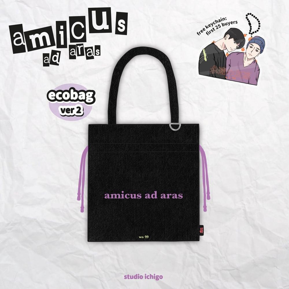 Image of [PRE ORDER] Amicus Ad Aras Woosan Ecobag - Black