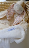 Couverture polaire & coton Coloris neutre