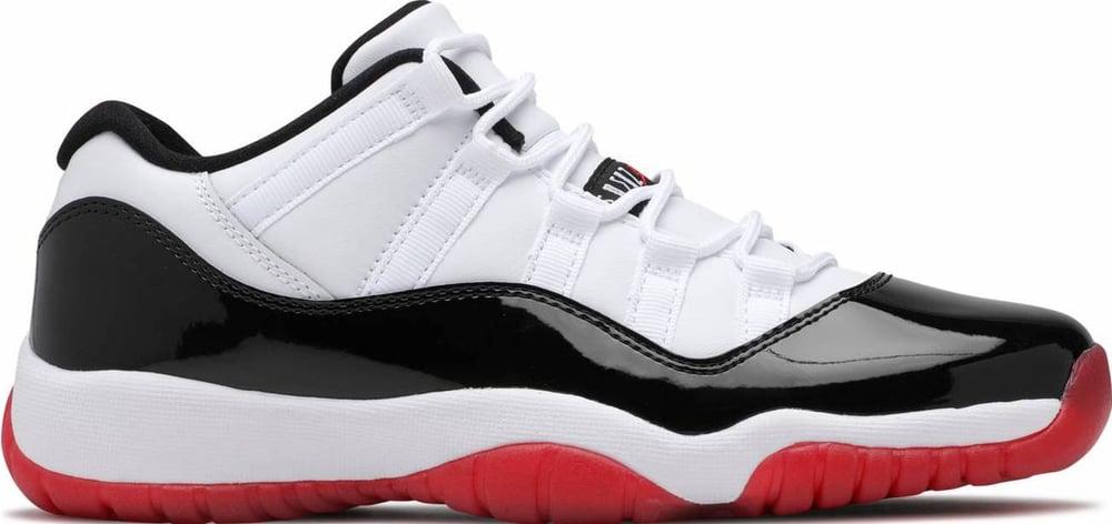 "Image of Nike Retro Air Jordan 11 Gs ""Concord Bred"" Sz 5Y"