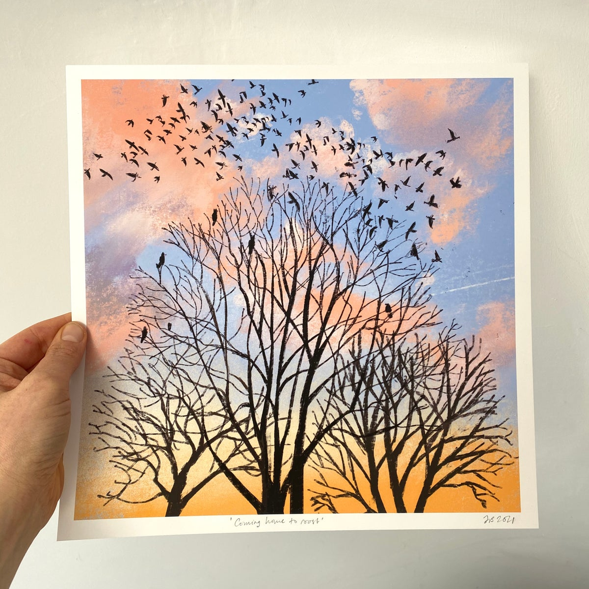 Image of 'Coming Home to Roost' Archive quality print