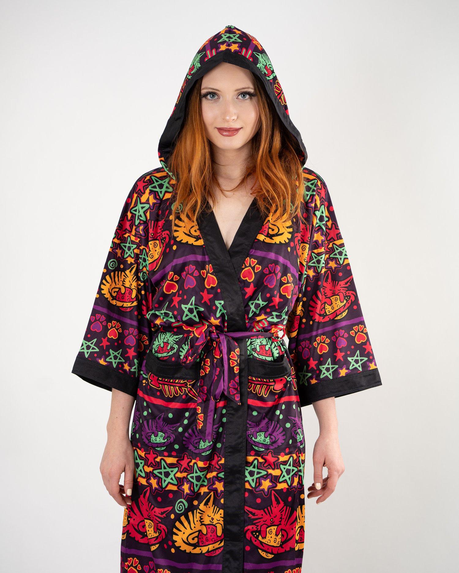 KOOZ - Cat Nap Kimono - (LE 50)