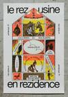 Rezidence riso poster