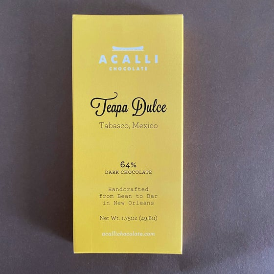 Image of Teapa Dulce 64% Dark Chocolate