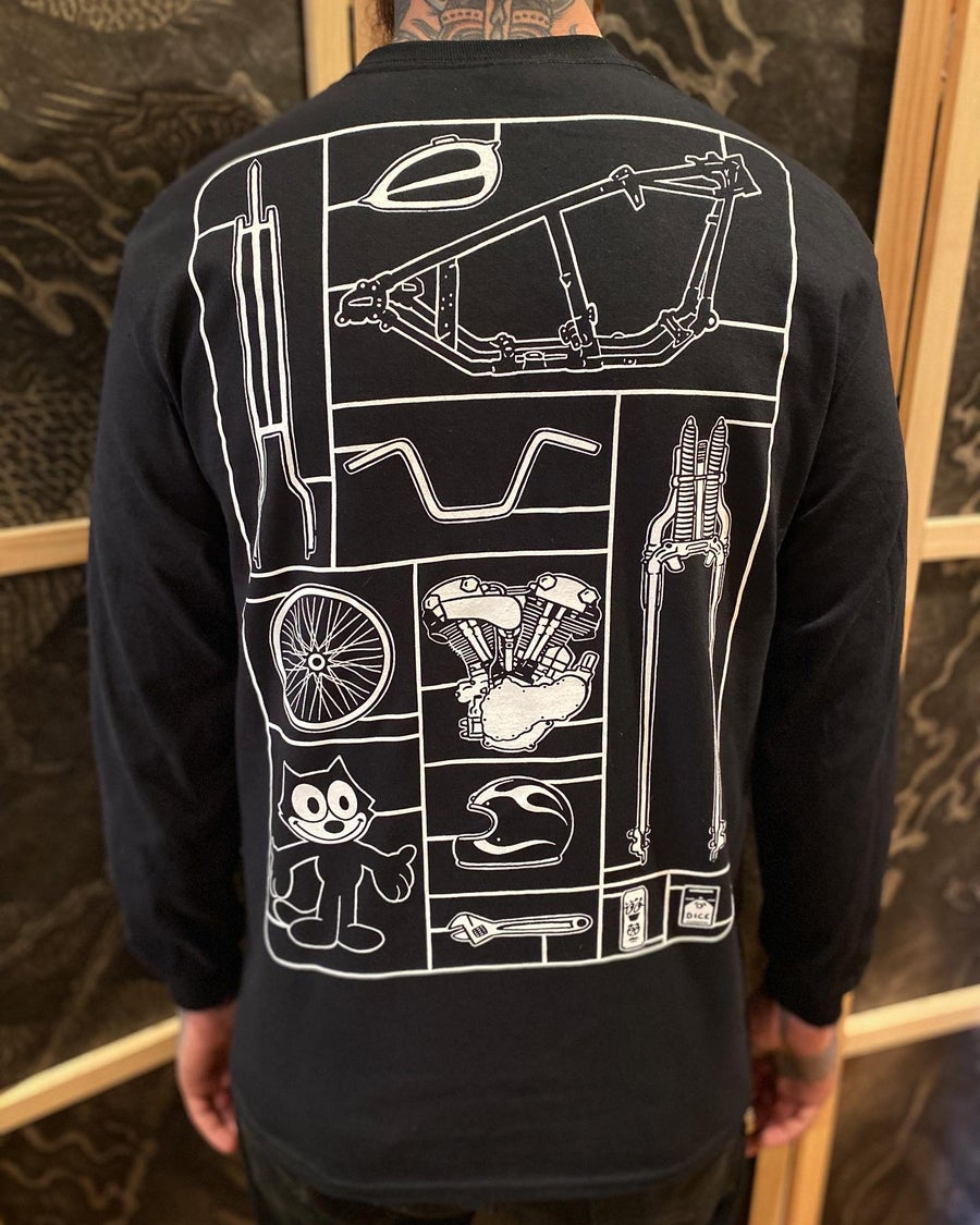 Image of DicE x LLPS Air Fix Long Sleeve