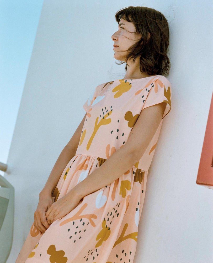 Image of Coral Dress