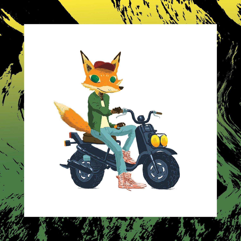 Image of SCOOT FOX Print