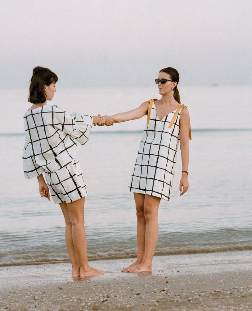 Image of Chess Ribbon Dress