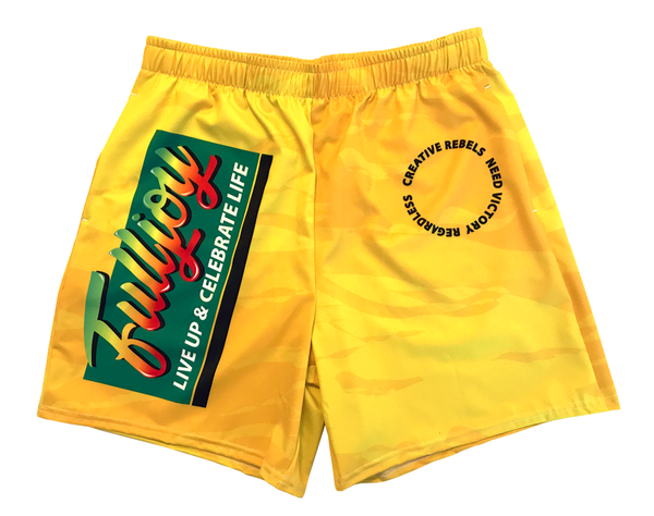 Image of FullJoy (Gold Drawstring Shorts)
