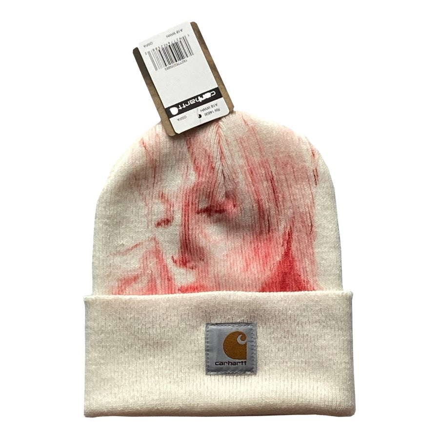 Image of Winter White 01 Carhart Beanie