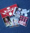 Roustan Vinyl Sticker Pack