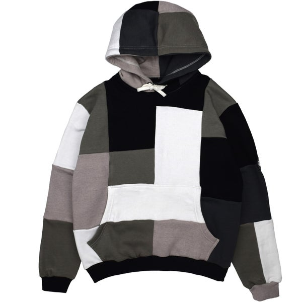 Image of Mono Patchwork Hoodie