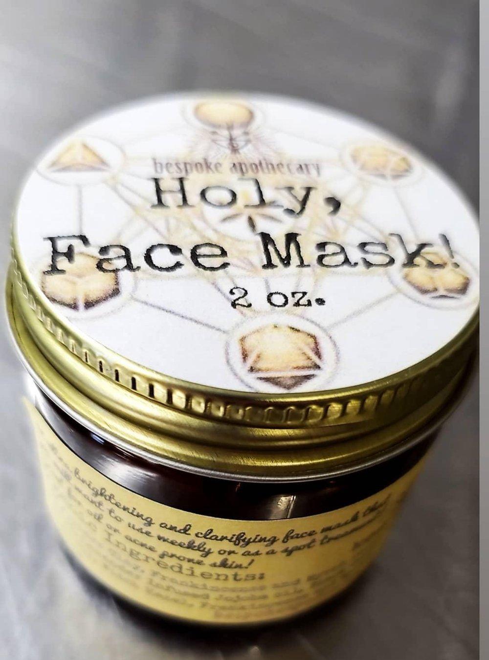 NEW & LIMITED BATCH Holy, Face Mask! (& Scrub)